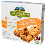 Cascadian Farms Peanut Butter Chip Granola Bar (12x7.4 Oz)
