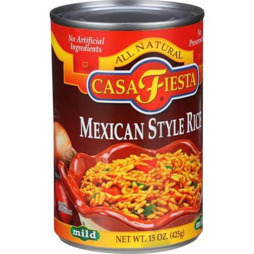 Casa Fiesta Mexican Style Rice Mild 15 oz