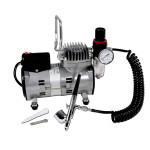 Fat Daddio's Professional Airbrush Set, Gun, Hose, 40psi compressor, 120 Volt