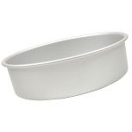 "Fat Daddio's Round cake pan solid bottom 4""x2"" Box of 6"