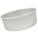 "Fat Daddio's Round cake pan solid bottom 8""x4"" Box of 6"