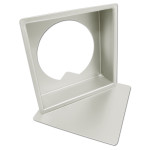 """Fat Daddio's Square cheesecake pan removable bottom 4""""x4""""x3"""" Box of 6"""