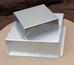 Ultimate Baker Mini Square Cake Pan Set  5, 7, 9  X  2 In (3 Piece Set)