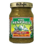 Mrs. Renfro's Green Hot Jalapeño Salsa (6x16Oz)
