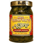 Mrs. Renfro's Nacho Sliced Jalapeno Peppers (6x16Oz)