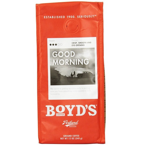 Boyds Coffee Good Morning (6x12 CT)