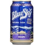 Blue Sky Natural Grape Soda (4x6 PK)