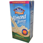 Blue Diamond Vanilla Almond Breeze Unsweetened (12x32 Oz)