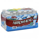 Arrowhead Water Spring Water Tuxedo (1x24Pack )