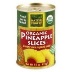 Native Forest Pineappleple Slices (6x15 Oz)