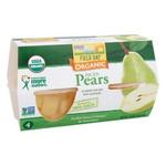 Field Day Organic Diced Pear Cups (6x4PK )