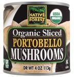 Native Forest Organic Sliced Portobello Mushrooms (12x7Oz)