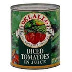 De Lallo Dcd Tom In Juice (12x28OZ )