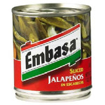 Embasa Sliced Jalapeno Pep (12x7OZ )