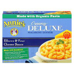 Annie's Deluxe Elbows & 4 Cheese Sauce (12x10 Oz)