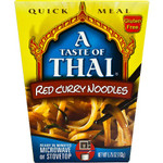 Taste Of Thai Red Curry Quick Meal Noodles (6x5.75 Oz)