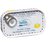 Bela Lightly Smoked Sardine Lemon Flavored Extra Virgin Olive Oil (12x4.25 Oz )