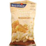 Barbara's Cheese Puff Bakes White Cheddar (12x5.5 Oz)
