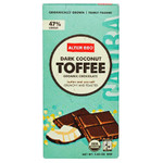 Alter Eco Dark Chocolate Coconut & Toffee (12x2.82 Oz)