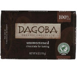 Dagoba Chocolate Unsweetened Dark Chocolate Baking Bar (10x6 Oz)