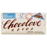 Chocolove Mini Br Milk Chocolate (12x1.3OZ )