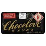 Chocolove Strong Dark Chocolate Mini Bar (12x1.3 Oz)