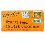 Chocolove Dark Chocolate Orange Peel Bar (12x3.2 Oz)