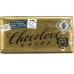 Chocolove Extra Strong Dark Chocolate Bar (12x3.2 Oz)