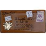 Chocolove Milk Chocolate Bar With Hazelnut (12x3.2 Oz)