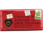 Chocolove Dark Chocolate Bar Cherry & Almond (12x3.2 Oz)