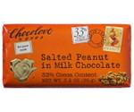 Chocolove Salted Peanut in Milk Chocolate Bar (12x3.2 Oz)