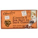 Chocolove Almonds & Sea Salt In Dark Chocolate (12x3.2Oz)