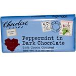 Chocolove Peppermint In Dark Chocolate (12x3.2Oz)