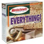 Manischewitz Matzo, Everything (12x10 OZ)