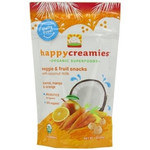 Happy Creamies Coconut Milk, Carrot, Mango And Orange (8x1Oz)
