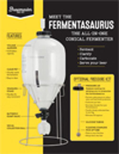Fermentasaurus Conical Fermenter - 9.25g/35L