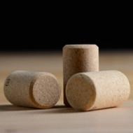 Belgian beer bottle cork.  Will form mushroom shape when inserted.