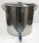 8.5 gal. Kettle, Valve and Thermometer