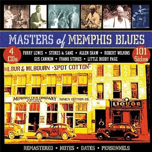 USA ONLY: Masters of Memphis Blues - VARIOUS ARTIST 4 CD BOX SET  PLUS 8 ISSUES AND FREE SHIPPING