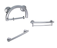 Grab Bar 2-in-1 Bath Set