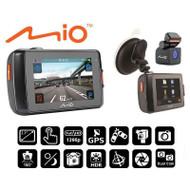 """Mio MiVue 698 Dual 2.7"""" DVR, Front & Rear 1080p HD GPS Dash Cam"""