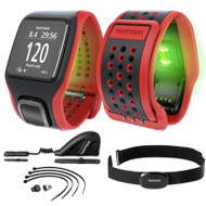TomTom Multi-Sport Cardio GPS Watch Heart Rate Monitor, Cadence, Speed & Altimeter Sensor Bundle