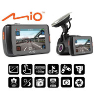 "Mio MiVue 658 Touch Full 1080p HD 2.7"" TouchScreen GPS Dash Cam"