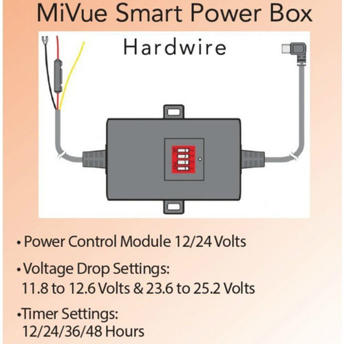 mio mivue smart power box wire kit mio 5 6 series dash cams rock uk