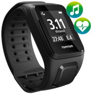 TomTom Spark - Cardio - Music - Blk - Large - MultiSport Watch