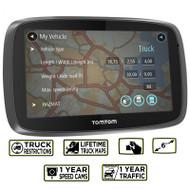TomTom Trucker 6000  GPS Sat Nav - Europe - Lifetime Maps - 1 Year Live Traffic