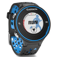 Garmin Forerunner 620 GPS Running Watch Colour Touchscreen Display - Black / Blue (Garmin Newly Overhauled)
