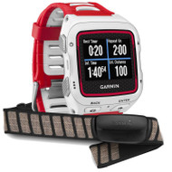 Garmin Forerunner 920XT GPS Multisport with HRM Sports Watch - White/Red (Garmin Newly Overhauled)