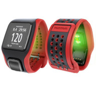 TomTom Runner Cardio GPS Watch - Red / Black - TomTom Refurbished