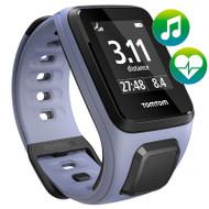 TomTom Spark - Cardio - Music - Purple - Small GPS Multi-Sport Fitness Watch